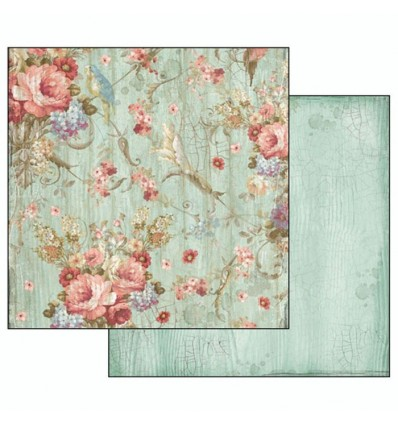 Double face paper Liberty flowers