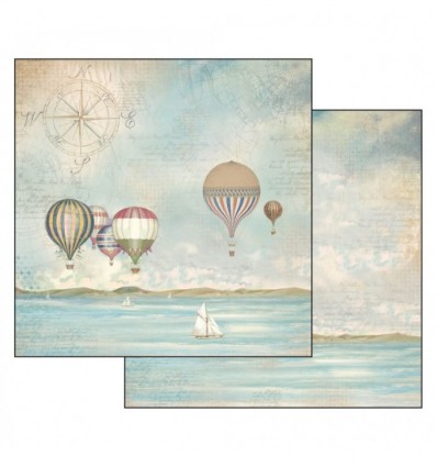 Double Face Paper Sea Land baloons