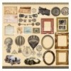 """Sheet of images for cutting. Collection """"Shabby memory"""""""