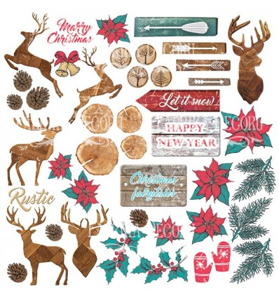 """Sheet of images for cutting. Collection """"Christmas fairytales"""""""