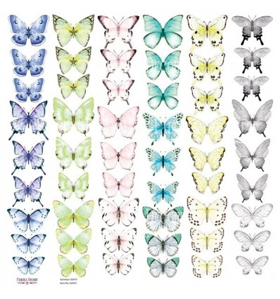 Set of of pictures for cutting Butterflies-3