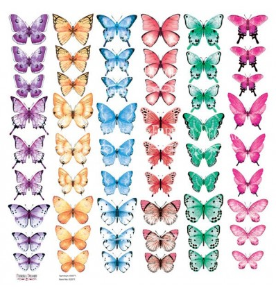 Set of of pictures for cutting Butterflies-4