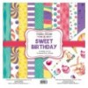 Double-sided scrapbooking paper set Sweet Birthday 12x12