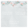 Double-sided scrapbooking paper set Shabby baby girl redesign 12x12