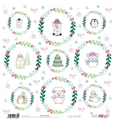 PAPEL SCRAP CUQUI CHRISTMAS
