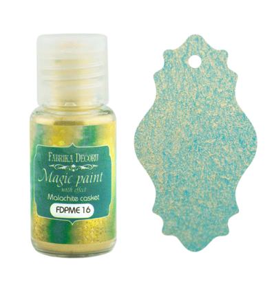 Pintura magica con efecto color Malachite casket - 15ml