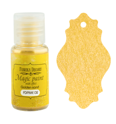 Pintura magica con efecto color Golden sand- 15ml
