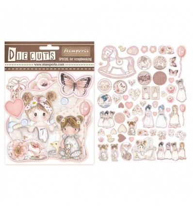 Die cuts surtido - Little Girl