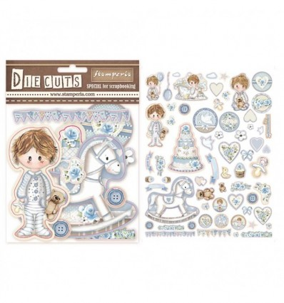 Die cuts surtido - Little Boy
