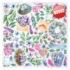 Double-sided scrapbooking paper set Colorful spring 12x12 10 sheets