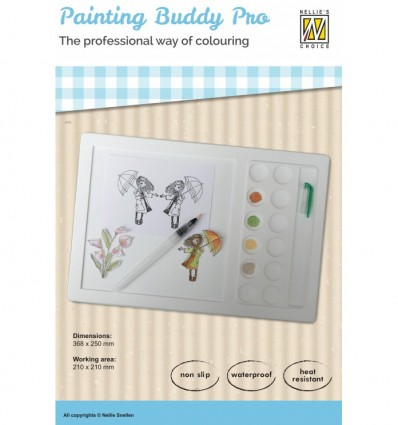 Nellie's silicone Painting Buddy Pro