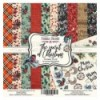 """Double-sided scrapbooking paperSet The spirit of Christmas, 12""""x 12"""""""