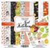 Papel doble cara Scrapbooking set Soul Kitchen- 12x 12 - Fabrika Decoru
