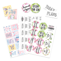 STICKERS FOR JOURNALING AND PACKAGING